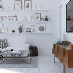 Trikovi za uređenje stana: boje za zidove u francuskom i skandinavskom stilu