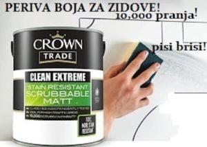 kantica s perivom bojom za zidove