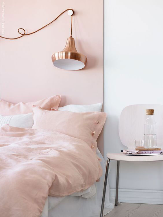 najbolje kombinacije moje zba zidove za 2019. godnu - roze boja za zidove