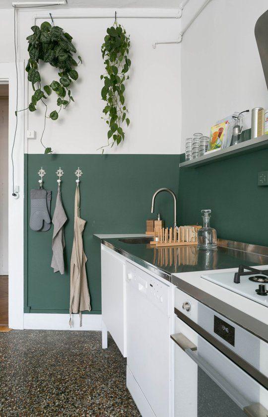 zelena boja za zidove