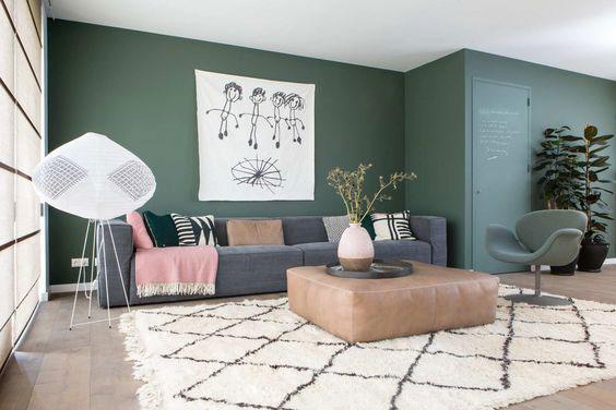 50 nijansi zelene boje za zidove