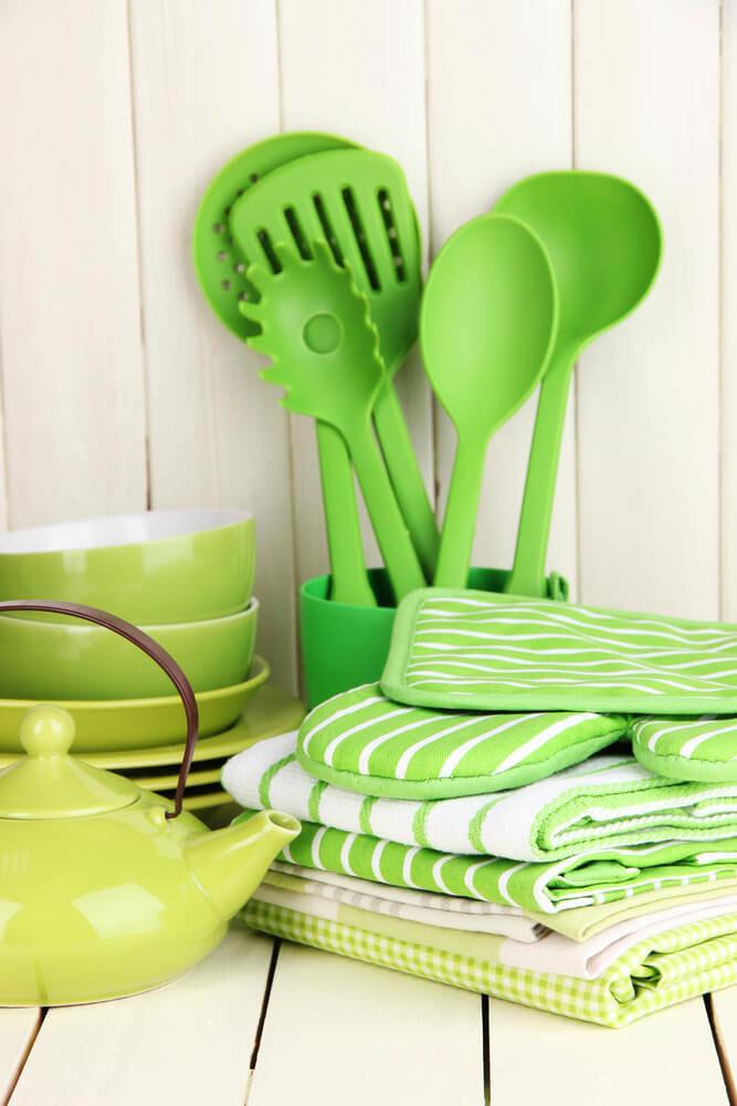 zeleni sudovi za kuhinju