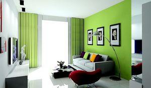 prirodne boje za krečenje u zelenoj nijansi