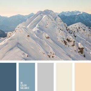 spremanje dooma za zimu - zimske nijanse boja za zidove