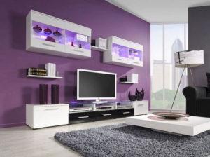 purpurne nijanse sobe