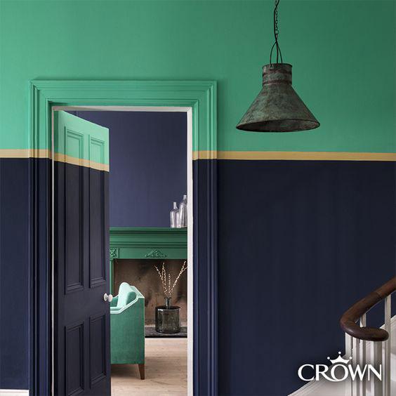 krecenje zidova u dve boje -intrigue efekat