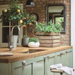7 ideja za unošenje zelene boje u vašu kuhinju