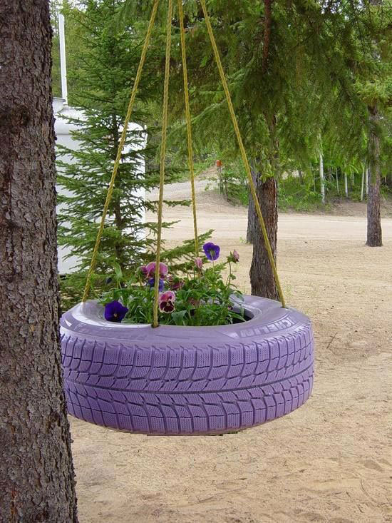 cveće u gumi