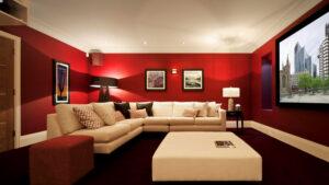 Crvena boja za zidove